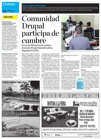 Diario La Hora Loja 14 de Marzo 2013 by Diario La Hora