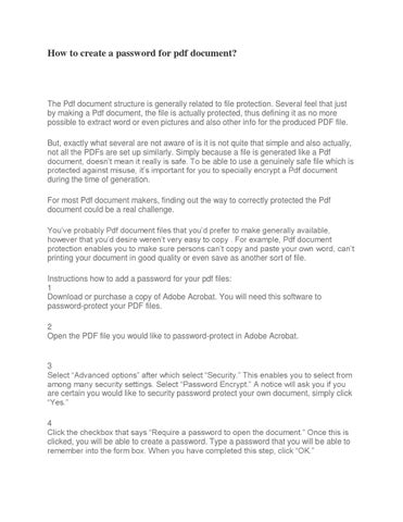 Remover ware password pdf
