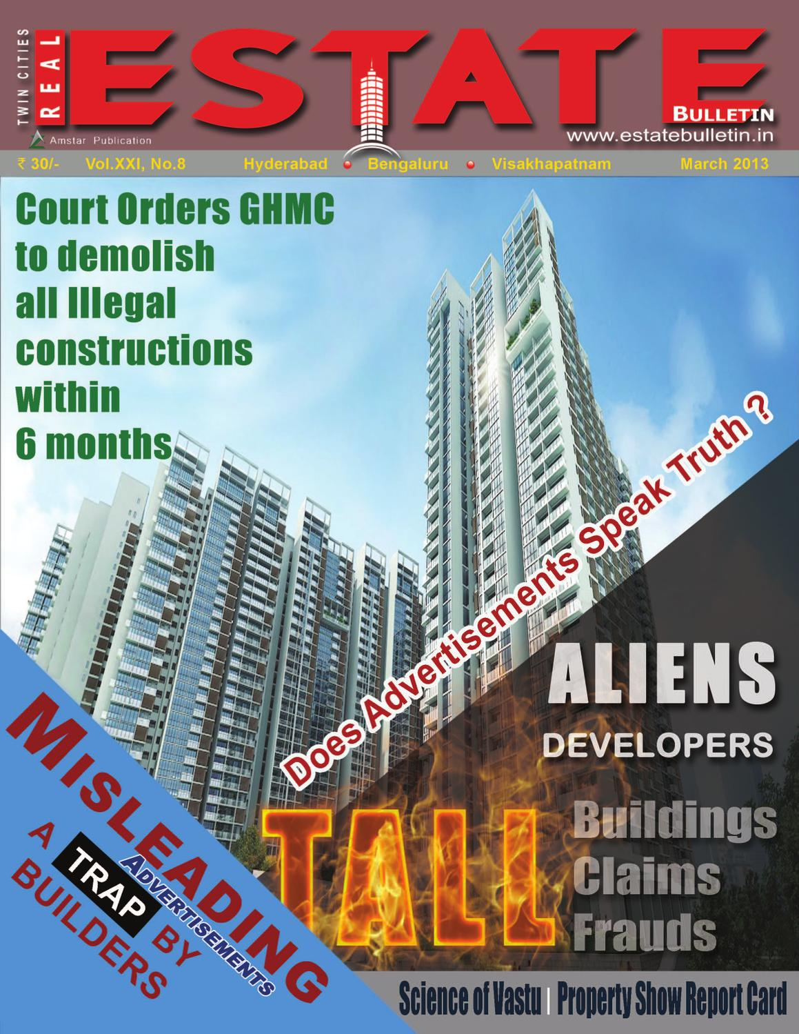 March-2013 by Real Estate Bulletin - issuu