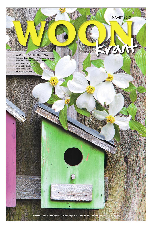 Woonkrant voorjaar 2013 by uitgeverij em de jong issuu for Nassau indus deur bv oosterhout