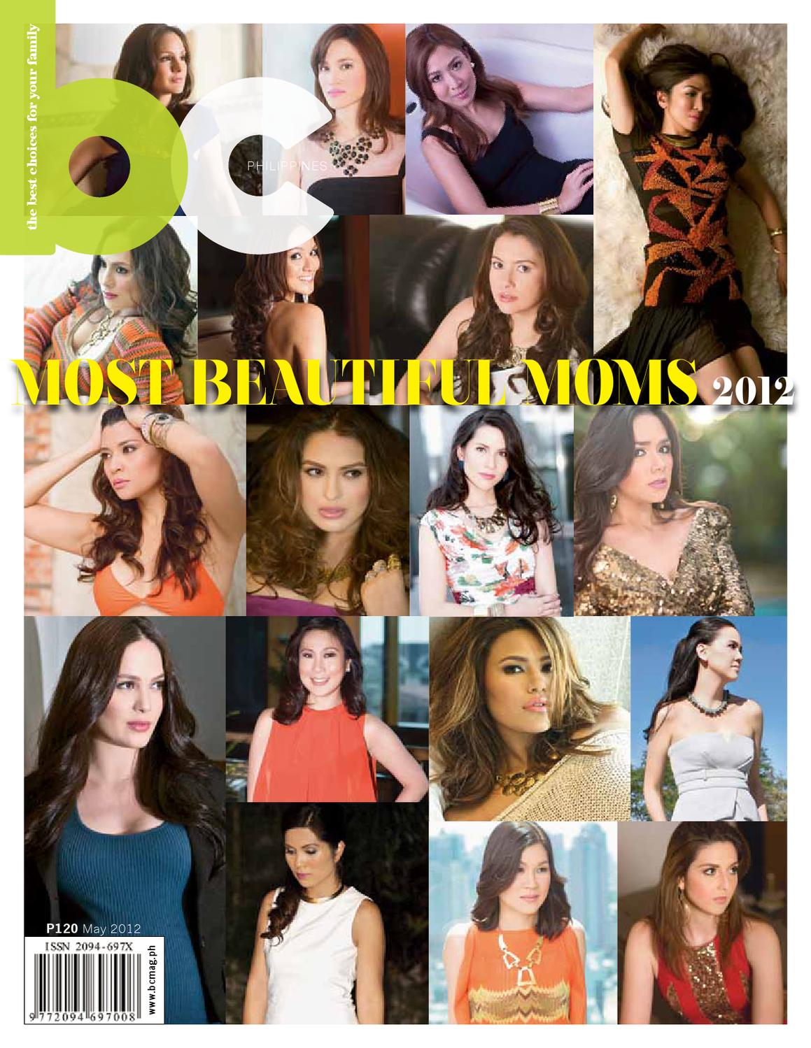 BC Magazine Philippines May 2012 Most Beautiful Moms by BC Magazine