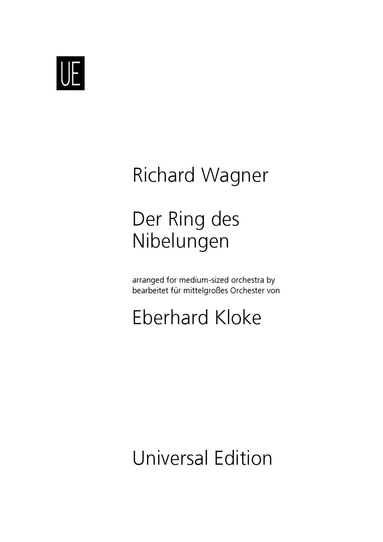 Richard Wagner - Der Ring des Nibelungen, Eberhard Kloke by ...
