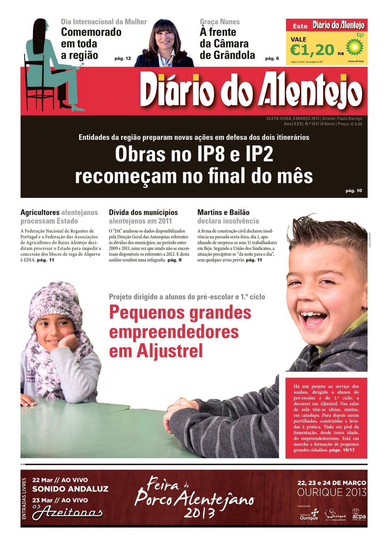 e081ae24253eb Edoçao N.º 1611 by Diário do Alentejo - issuu