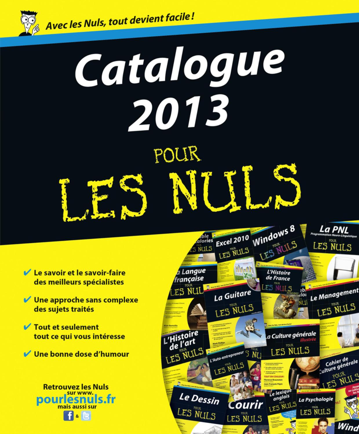 catalogue 2013 pour les nuls by di8 issuu. Black Bedroom Furniture Sets. Home Design Ideas