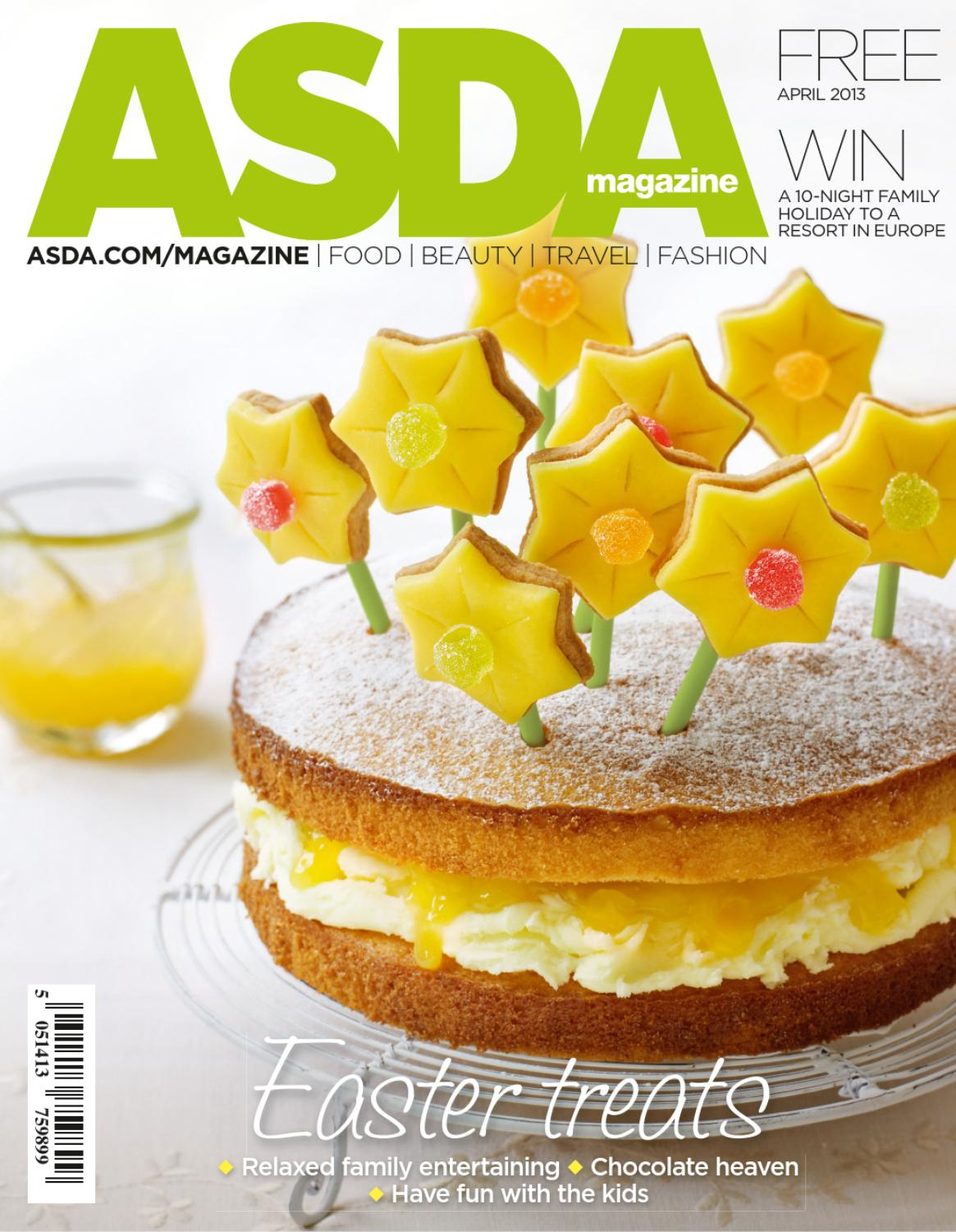 Asda magazine april 2013 by asda issuu negle Choice Image