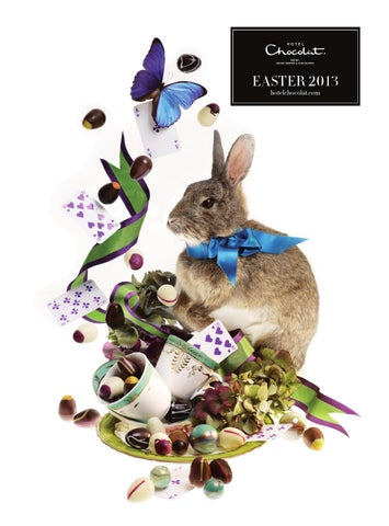 Hotel chocolat easter 2013 catalogue by hotel chocolat issuu page 1 negle Gallery