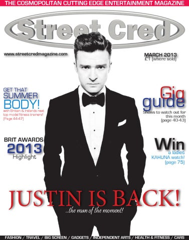 27a55ca8 STREET CRED MAGAZINE MARCH 2013 by Street Cred Magazine - issuu