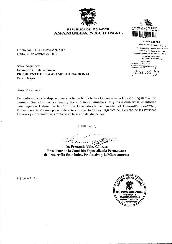 Ley Orgánica del Derecho de las Personas Usuarias y Consumidoras by ...