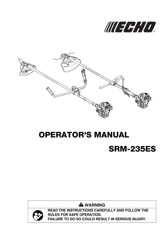 echo srm235es user manual by allpower issuu rh issuu com echo trimmer manual teho21ub24ra 2100 echo trimmer manual srm 225