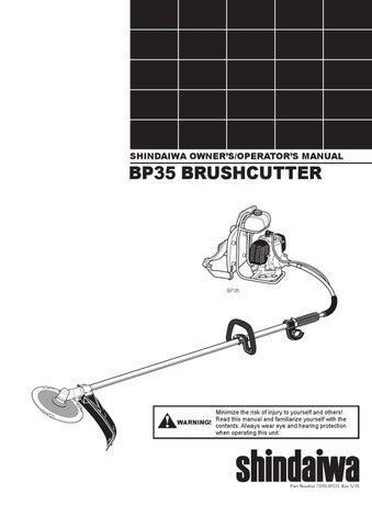 shindaiwa bp35 user manual by allpower issuu rh issuu com S 25 Shindaiwa Parts Lookup Shindaiwa S25 Trimmer