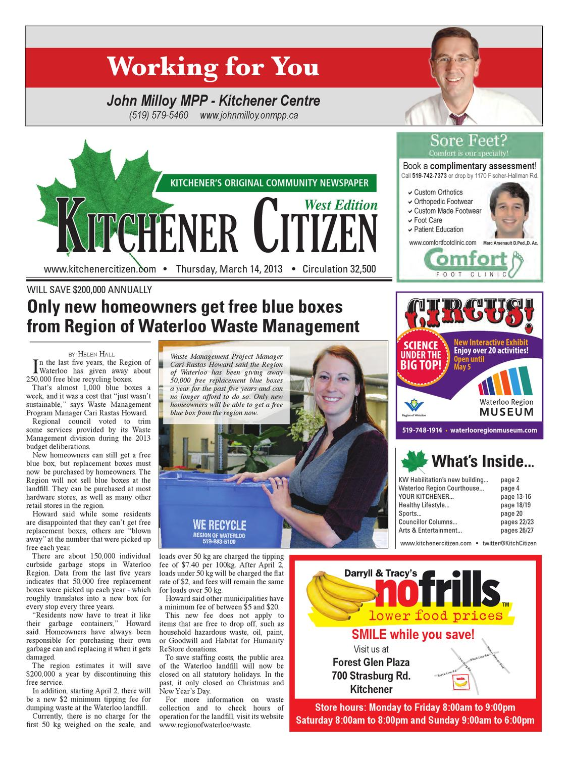 Kitchener Citizen - West Edition March 2013 by Kitchener Citizen - issuu