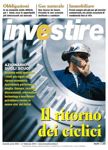 ba64218ee4 Investire Febbraio 2013 by Fondi&Sicav - issuu