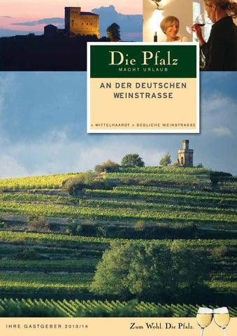 Unterkunftsverzeichnis Deutsche Weinstrasse by Südliche Weinstrasse ...