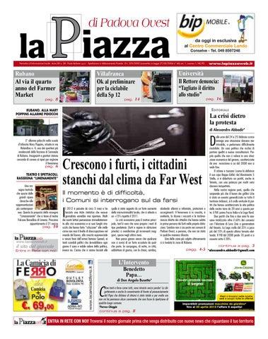 La Piazza di Padova ovest - 2013feb n28 by lapiazza give