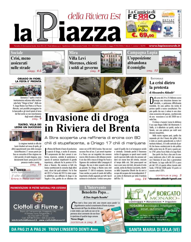 La Piazza della Riviera est - 2013feb n23 by lapiazza give emotions - issuu a2c577af218