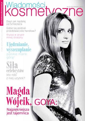 71ada46adc Wiadomosci Kosmetyczne 3-2013 by Wydawnictwo Gospodarcze - issuu