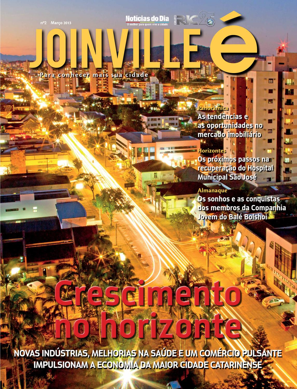 Joinville é  2 by RIC EDITORA - issuu 28b098fbd6