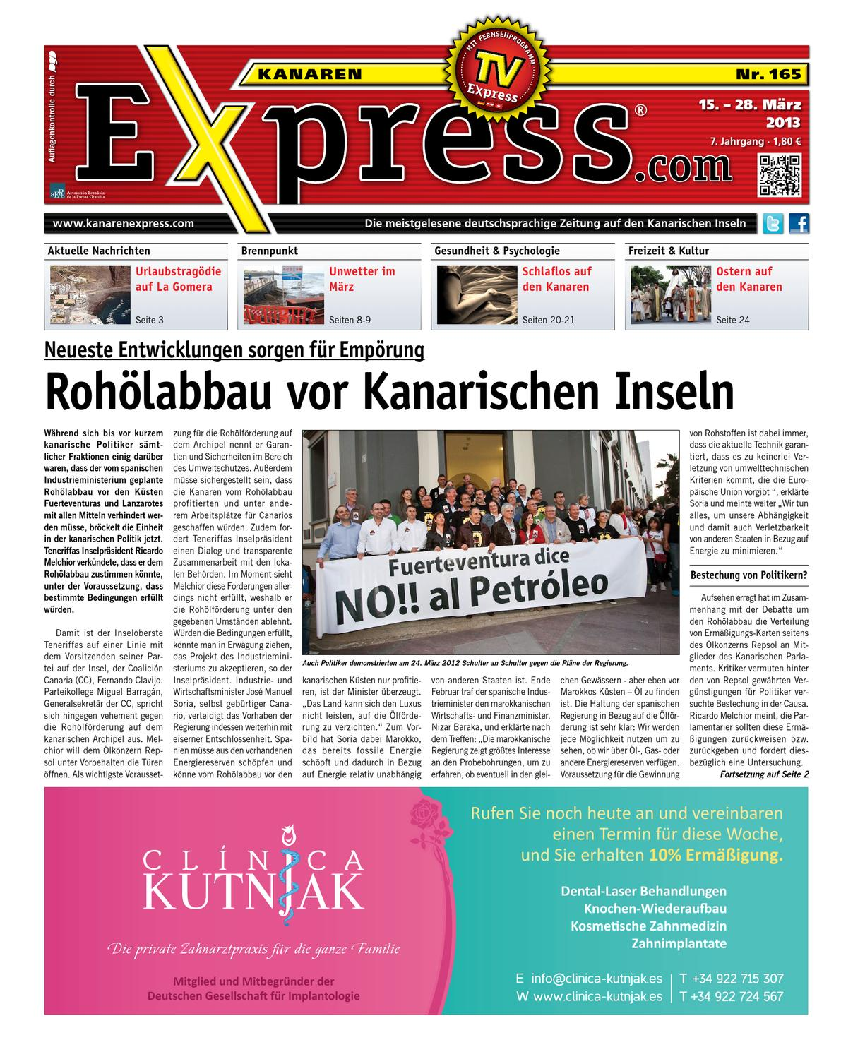 Kanaren Express 165 by Island Connections Media Group - issuu