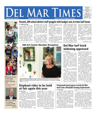 Del mar times 31413 by mainstreet media issuu page 1 fandeluxe Choice Image