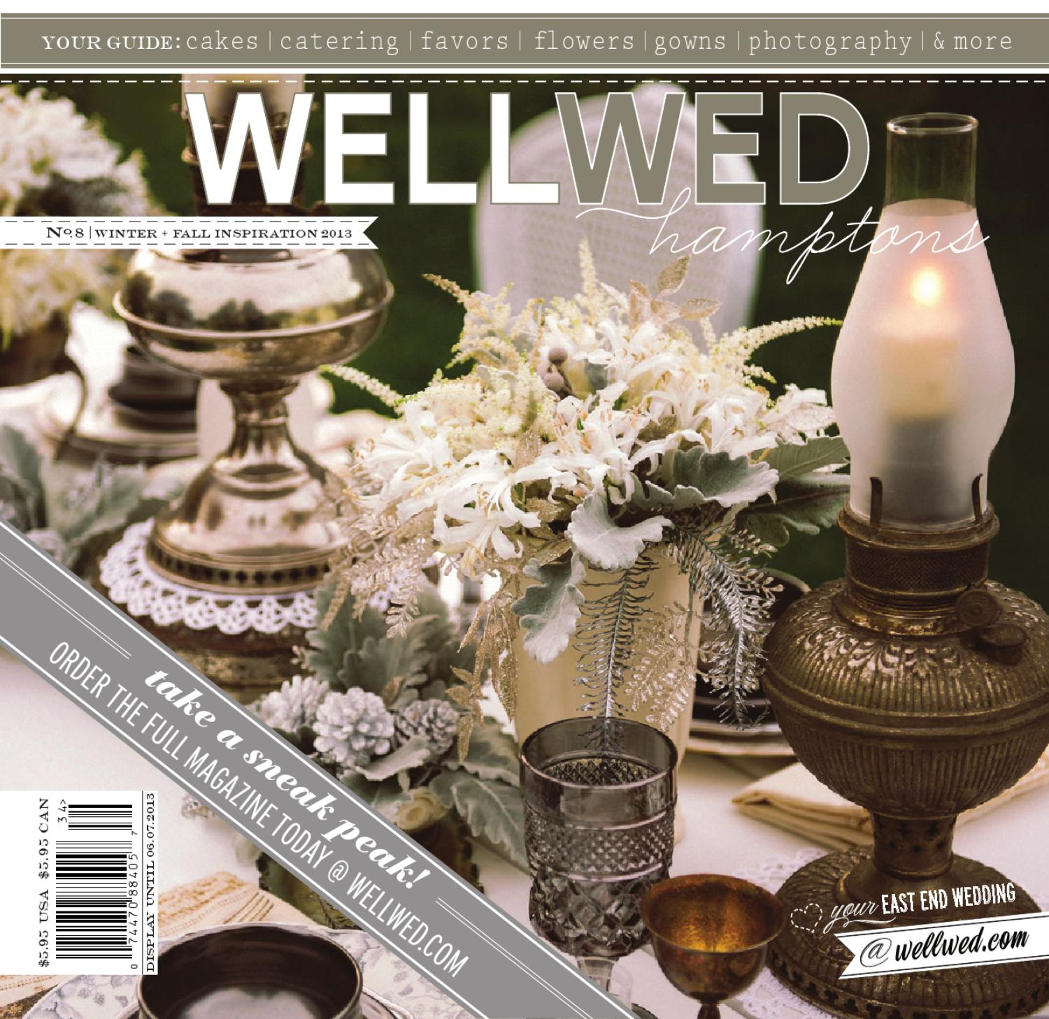 Wellwed Hamptons Issue No 8 Winter Fall Inspiration By Vermont