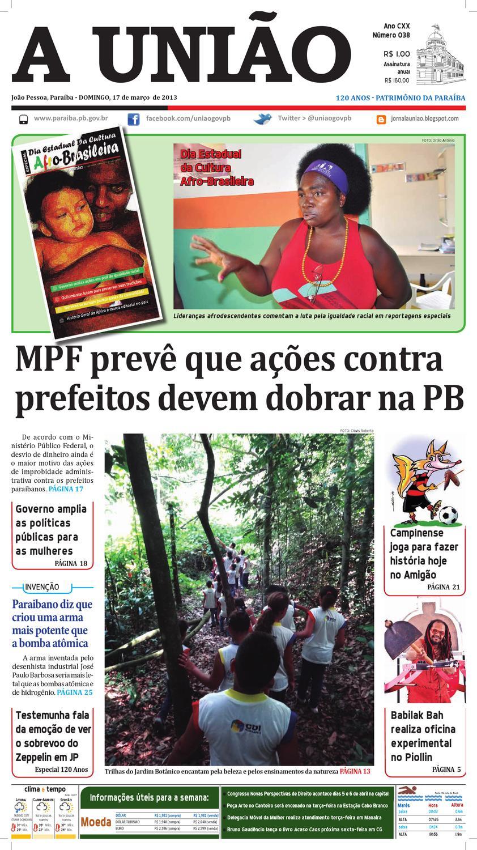 3a3ce75b95d Jornal A União by Jornal A União - issuu