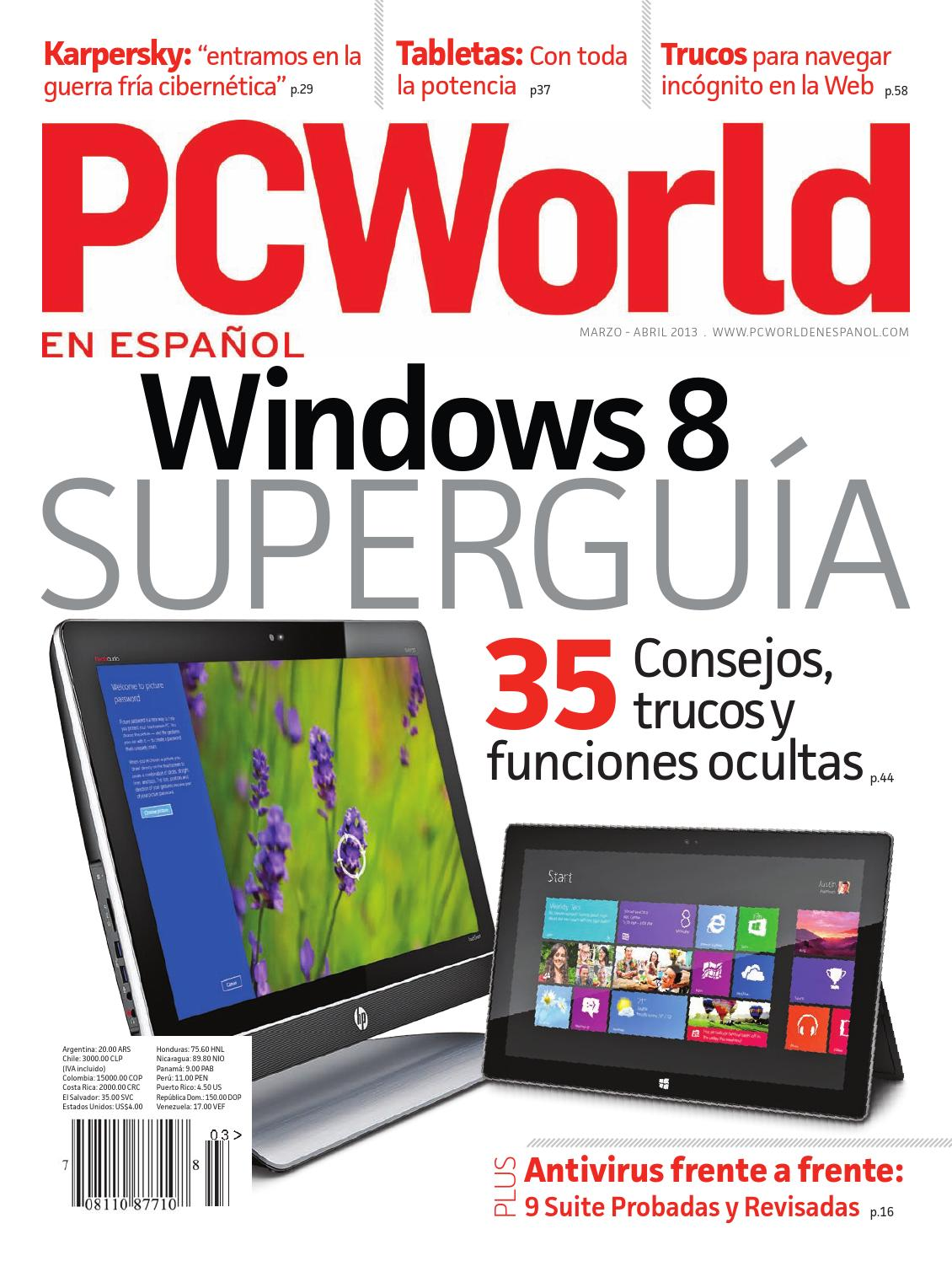 PC World en Español - Marzo-Abril 2013 by IDG Latin America - issuu