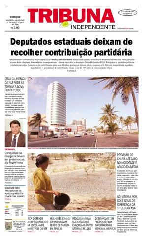 d9d4dfd5148 Edição número 1695 - 17 de março de 2013 by Tribuna Hoje - issuu