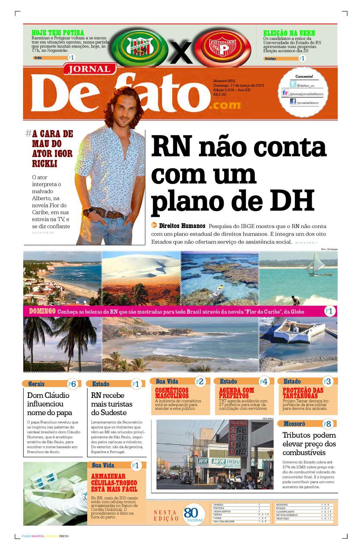 aff525e163 Jornal de Fato by Jornal de Fato - issuu