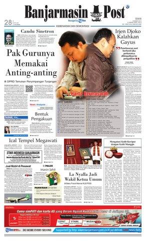 Banjarmasin Post edisi cetak Senin 7869813420