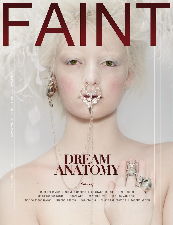 Dream Anatomy - Alternate Cover by FAINT MAGAZINE - issuu