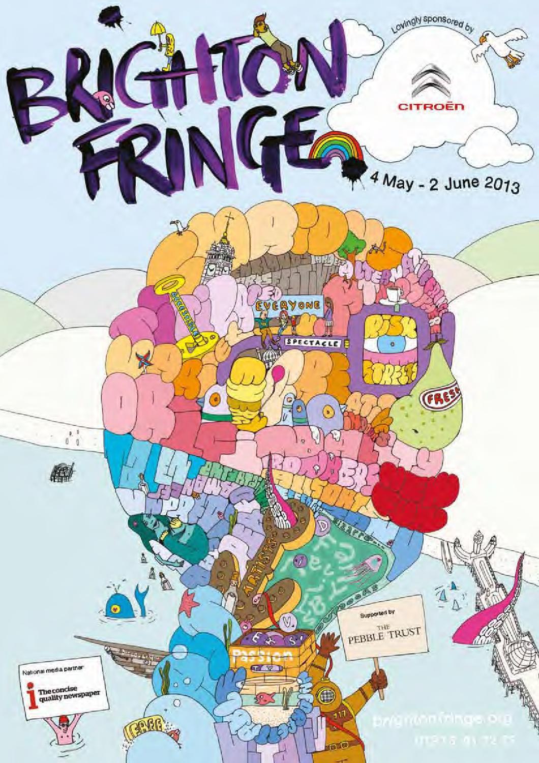 Brighton Fringe 2013 Brochure by Brighton Fringe - issuu