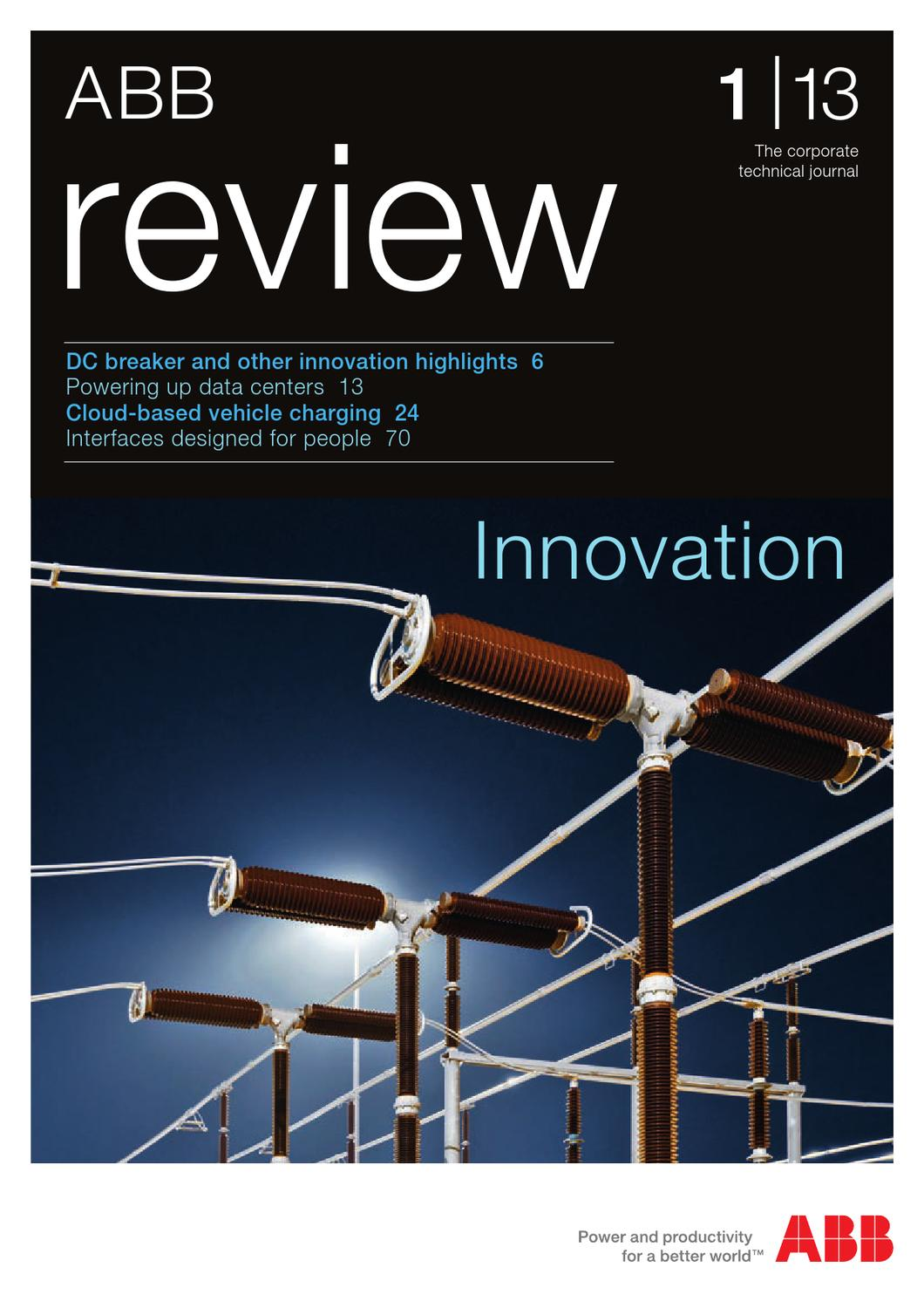 Abb Review 1 2013 By Davilla Werbeagentur Issuu Solid State Overload Relay