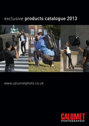 e2c4d50dd360 Calumet Exclusive Products Catalogue by Calumet Photographic - issuu