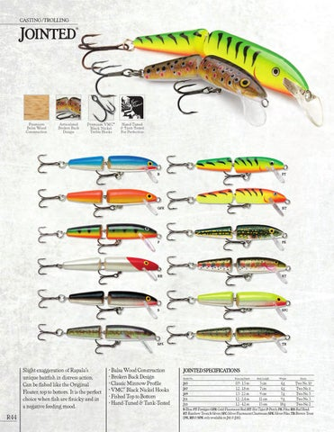 Rapala Jointed //// J05 //// 5cm 4g Fishing Lures Choice of Colors