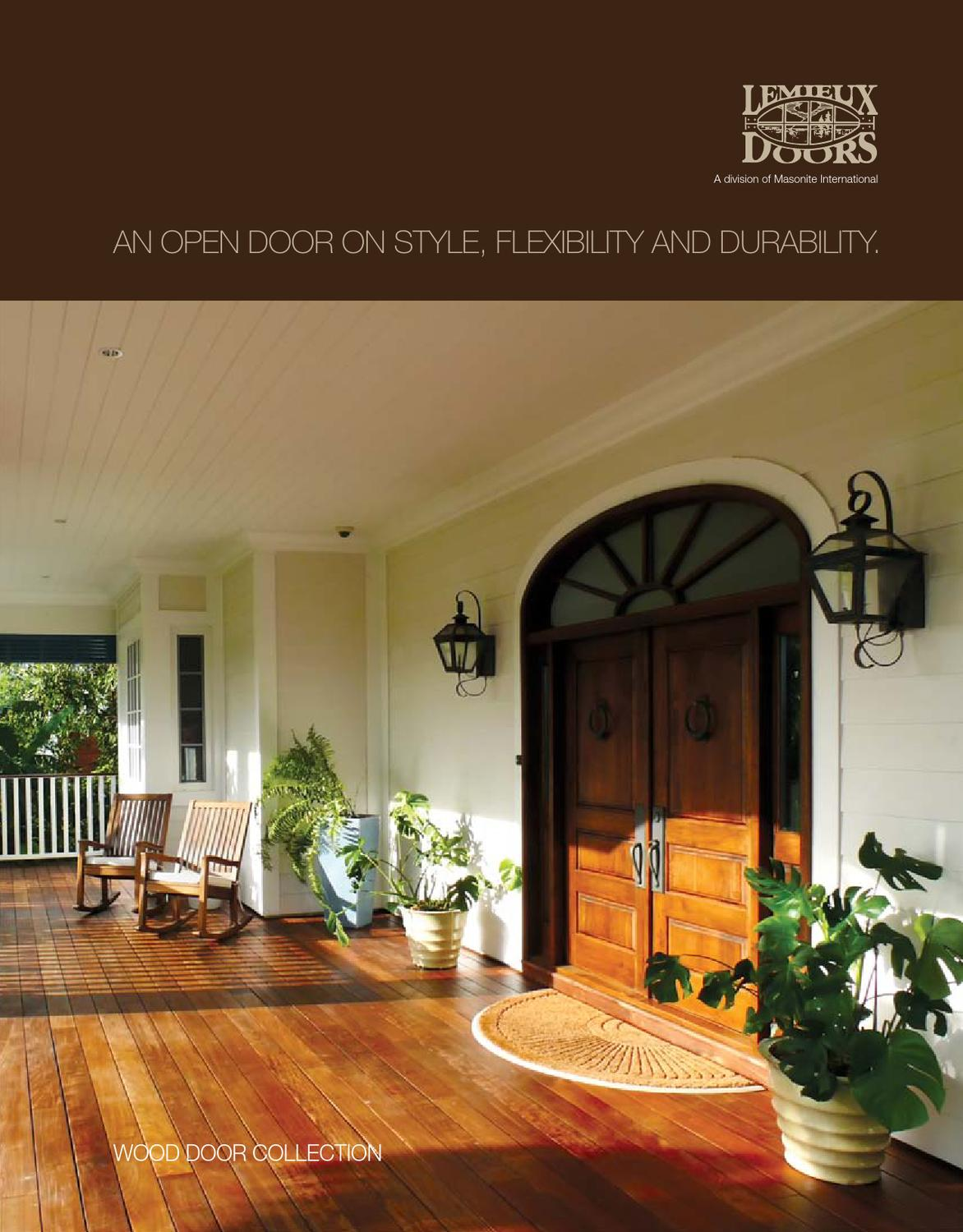 Lemieux Catalog By Western Building Products Issuu