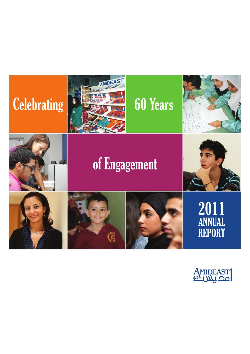2011 AMIDEAST Annual Report by AMIDEAST - issuu