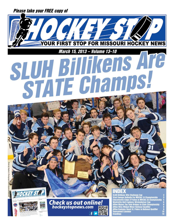 Sluh Calendar.Vol 13 10 Hockey Stop News By Colleen Hazelton Issuu