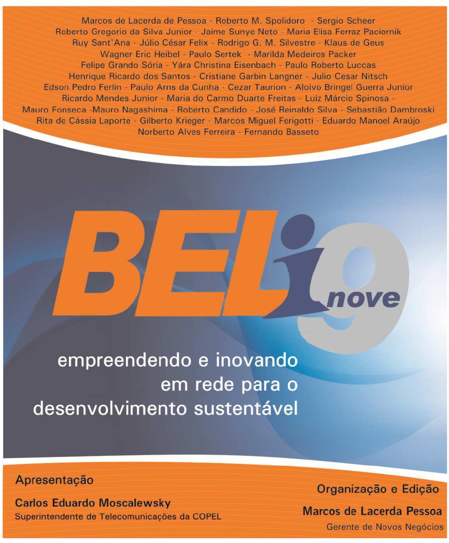 BEL-i9  empreendendo e inovando em rede para o desenvolvimento sustentável  by Universidade Corporativa Copel - issuu 63f928f412078