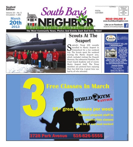 March 20, 2013 Seaford by South Bay's Neighbor Newspapers