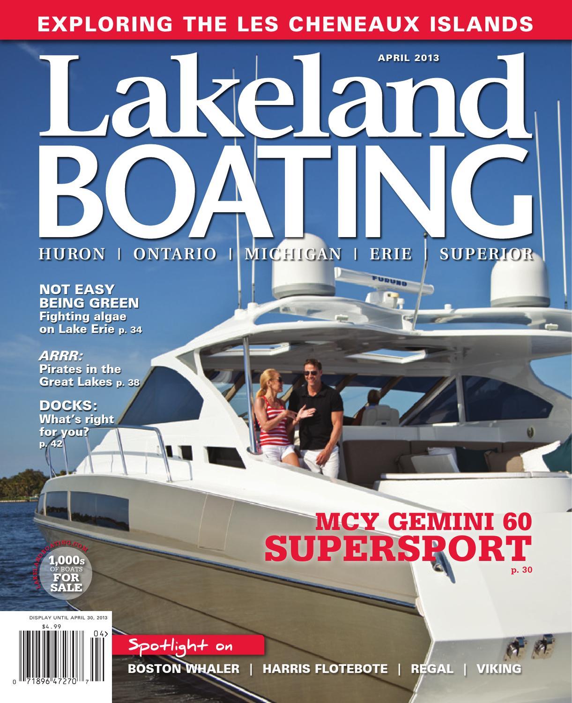 Lakeland Boating April 2013 By Lakeland Boating Magazine