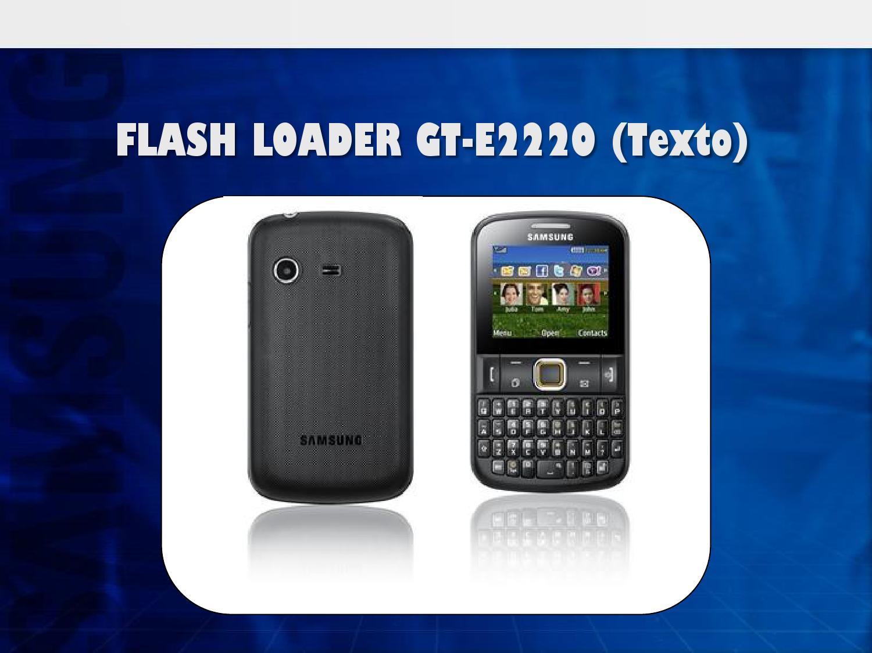 Samsung gt e2220 manual high school