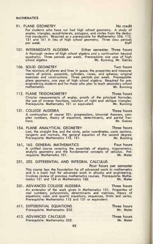 1957-1958 Catalog by Pacific Lutheran University Archives