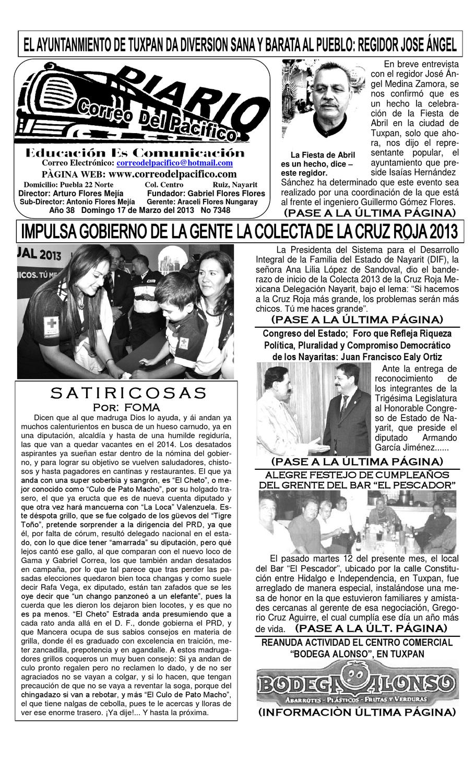 correo del pacfico by Correo del Pacifico - issuu