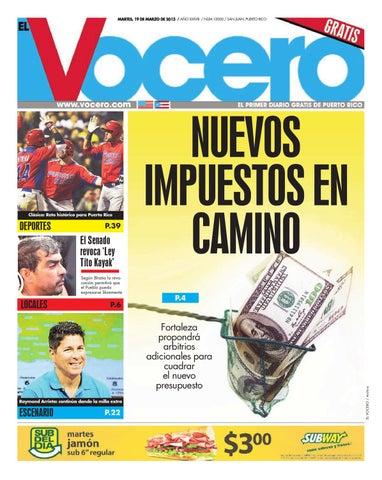 502274c0202a Edición 19 de Marzo 2013 by El Vocero de Puerto Rico - issuu