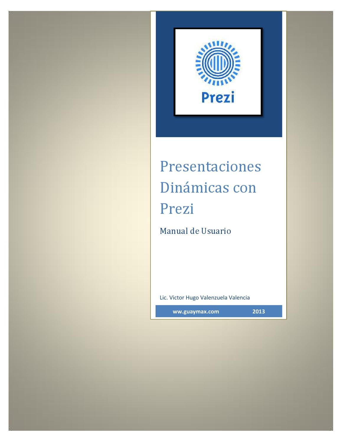 Manual Prezi by victor valenzuela - issuu