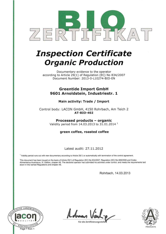 Bio Certification Organic Production By Piero Piccolo Issuu