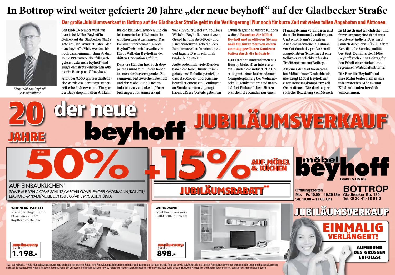Jubi Aktion By Mobel Beyhoff Gmbh Beyhoff Issuu