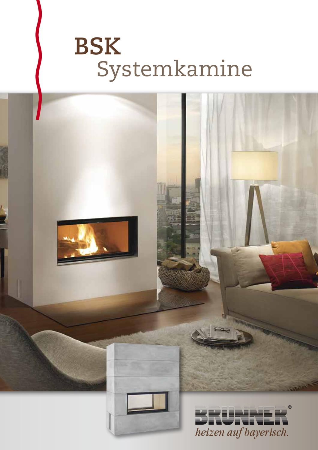 brunner bsk systemkamine by stude feuerungstechnik gmbh issuu. Black Bedroom Furniture Sets. Home Design Ideas