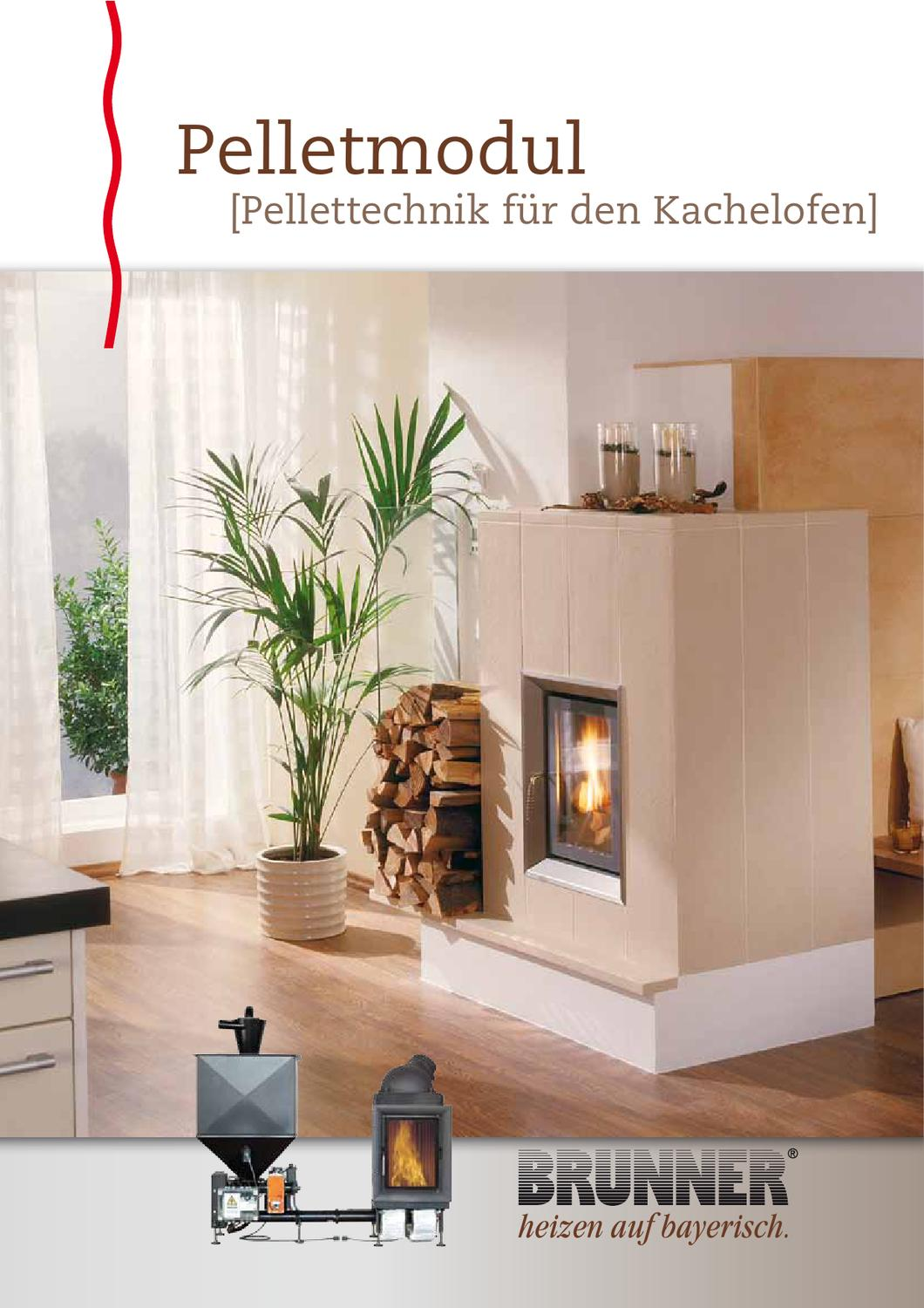 brunner pelletmodul by stude feuerungstechnik gmbh issuu. Black Bedroom Furniture Sets. Home Design Ideas