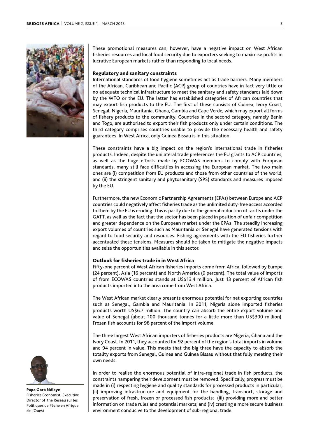 Bridges Africa - March 2013 by ICTSD - issuu